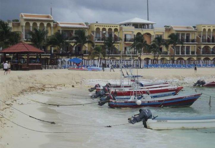 Piden una pronta recuperación de las playas de Playa del Carmen. (Archivo/SIPSE)
