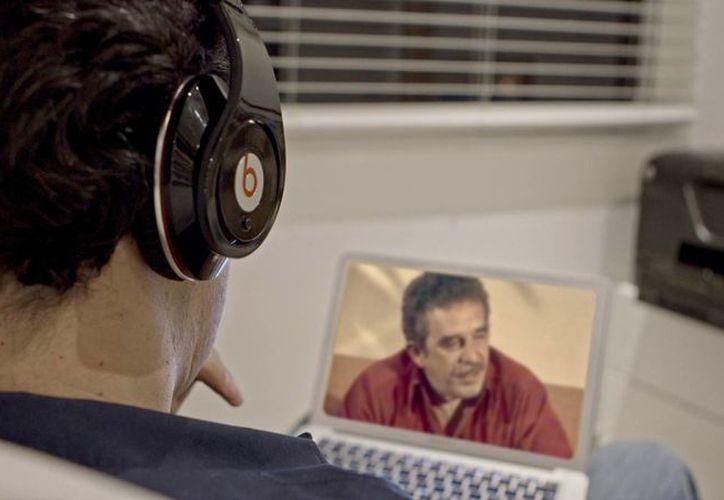 Escena del documental Gabo, la magia de lo real, que trata sobre la vida del escritor colombiano Gabriel García Márquez y que se exhibirá en varias partes del mundo. (Foto: AP)