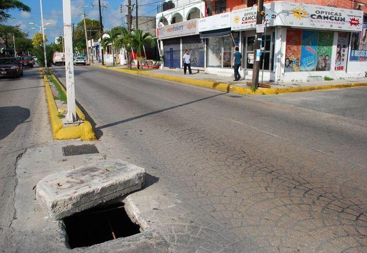 Uno de los proyectos es crear una via peatonar en la avenida Yaxchilán. (Tomás Álvarez/SIPSE)
