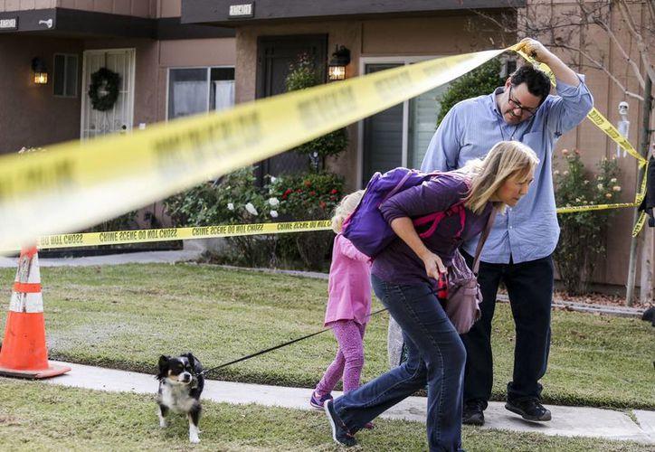 Una llamada anónima advirtió al centro médico Loma Linda University sobre una bomba. La alarma resultó falsa. (AP)