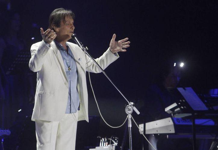 El próximo miércoles, Roberto Carlos será reconocido por el Grammy Latino, como Persona del Año, y el viernes ofrecerá un 'show' en el Mandalay Bay. (Archivo/Notimex)