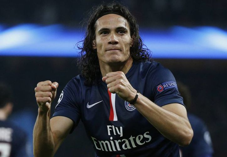 Edinson Cavani anotó por el PSG en la victoria por 2-0 sobre Nantes en el partido de vuelta de los octavos de final de la Copa de Francia. (EFE)