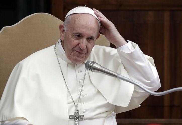El Papa Francisco nuevamente manifestó su preocupación por el cambio climático. (AP)