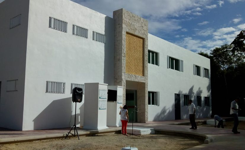 En la construcción se invirtieron más de 28 millones de pesos. (Jesús Caamal/SIPSE)