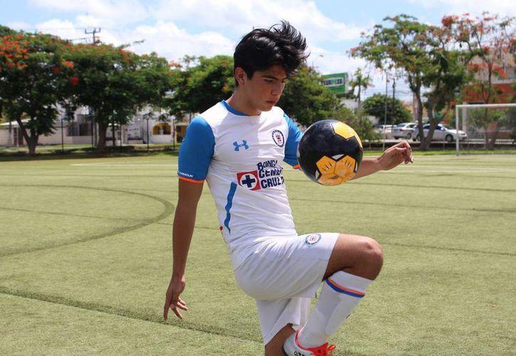El futbolista yucateco disputará el torneo Liga MX de la categoría Sub-17, en busca de ascender al primer equipo. (Milenio Novedades)