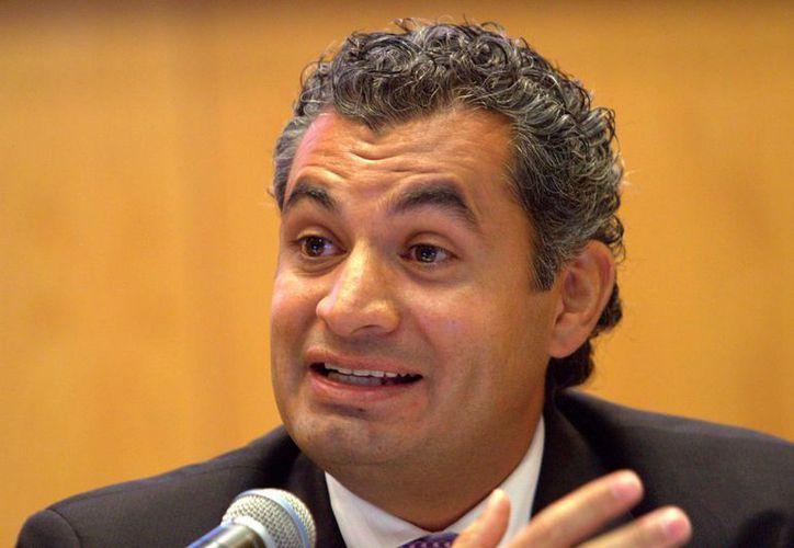 Enrique Ochoa Reza, titular de la CFE, aseguró que los costos de producción de energía eléctrica también se han reducido. (Archivo/Notimex)