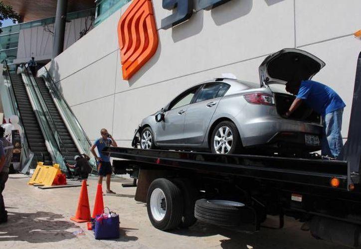 El proceso penal por el accidente ocurrido en el estacionamiento de Plaza Altabrisa fue suspendido. (SIPSE)