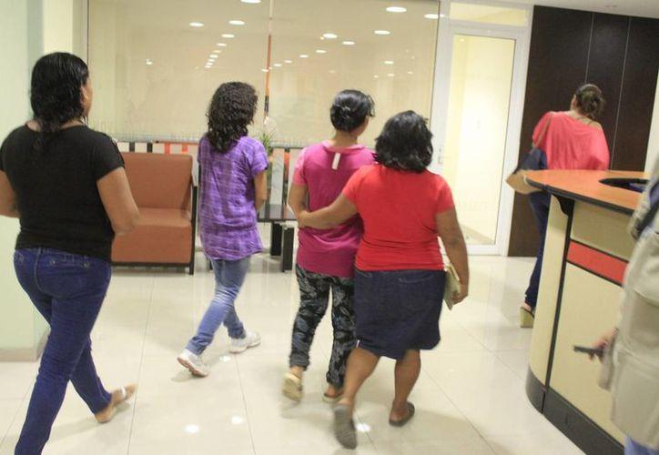 Las menores serían trasladadas a la casa hogar del DIF Municipal. (Eric Galindo/SIPSE)