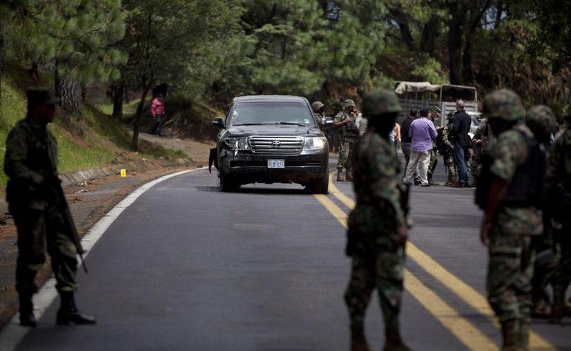Los policías federales no respetaron los protocolos de actuación, afirma Maribel Cervantes. (Archivo/Agencias)