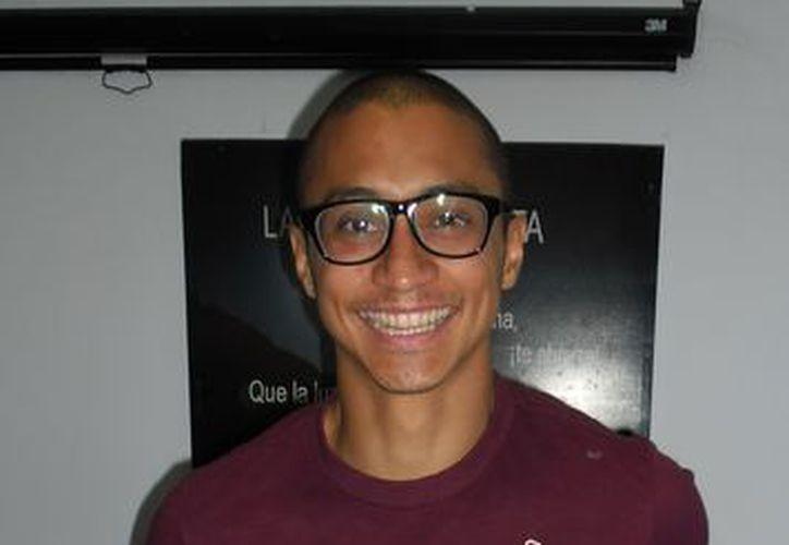 Con 28 años, Toti dijo que no se siente viejo para continuar corriendo los 100 y 200 metros. (SIPSE)