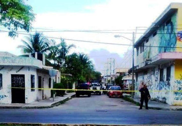 Durante la mañana del martes se reportaron detonaciones en la colonia Independencia. (Redacción/SIPSE)