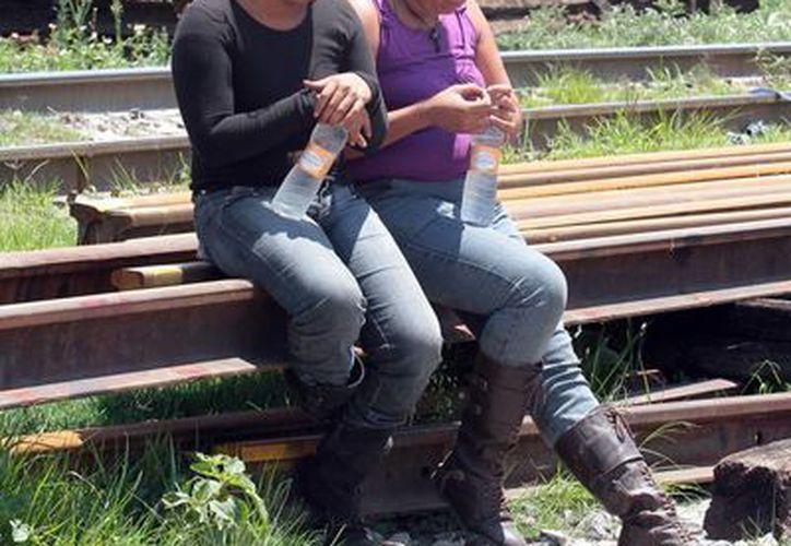 La presencia de los migrantes se ha incrementado en zonas como Cuautitlán Izcalli y Tlalnepantla. (Archivo/Notimex)