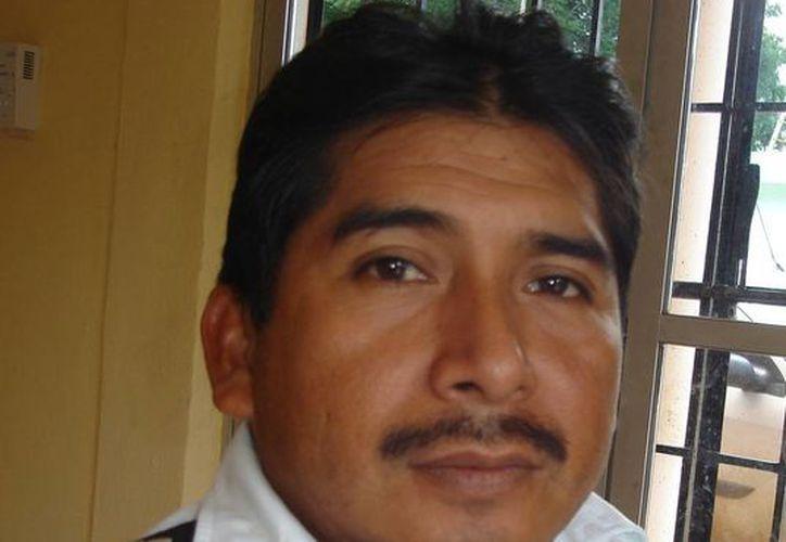 Encarnación Domínguez Cano, deja la dirección de Transito Municipal; se integra a la planilla del candidato Andrés Flota Castilo. (Carlos Yabur/SIPSE)