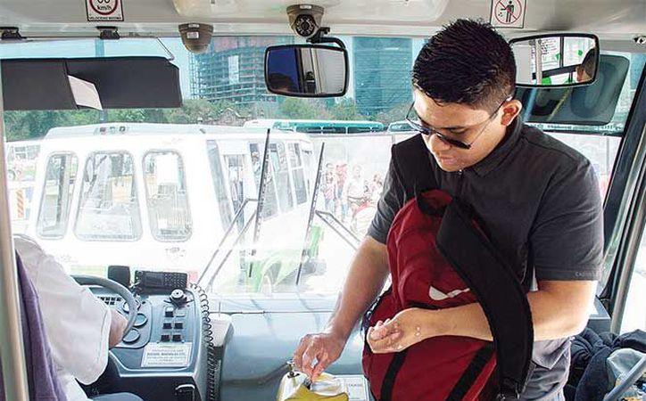 En Corredores Concesionados será de 6.50 pesos para el servicio ordinario y de siete para el servicio ejecutivo. (Excelsior)