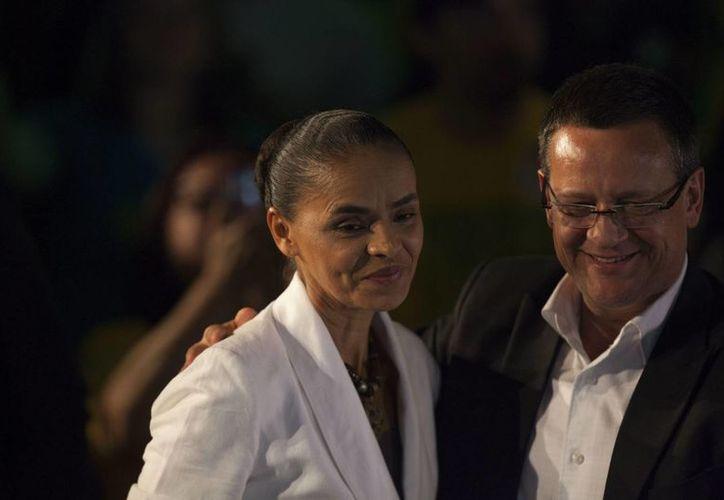 Marina Silva quedó fuera de la segunda vuelta electoral por la presidencia brasileña al obtener poco más del 20 por ciento de los votos. (EFE)
