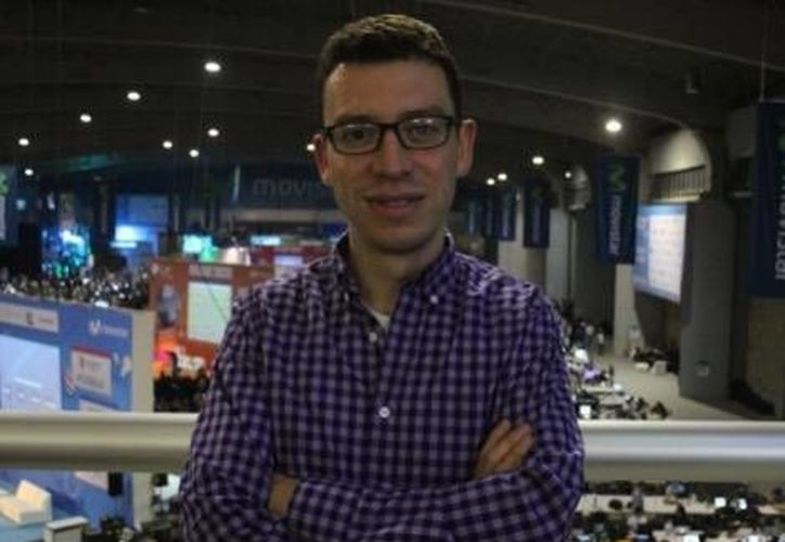 Luis von ahn, fundador de Duolingo, que convierte a aprendices en maestros. (Milenio)