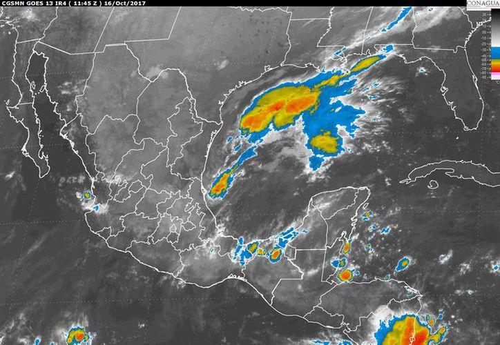 Para hoy se espera la formación de tormentas por la tarde en Chetumal. (Conagua)