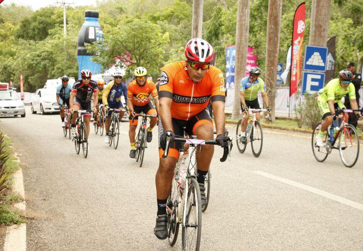 Finalizó ayer la segunda etapa en la ruta Uxmal-Muna-Uxmal. (Foto: Milenio Novedades)