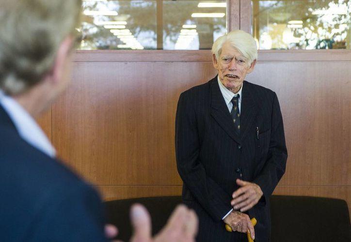 Radu Florescu falleció en Francia por complicaciones de una neumonía. Tenía 88 años. (AP)