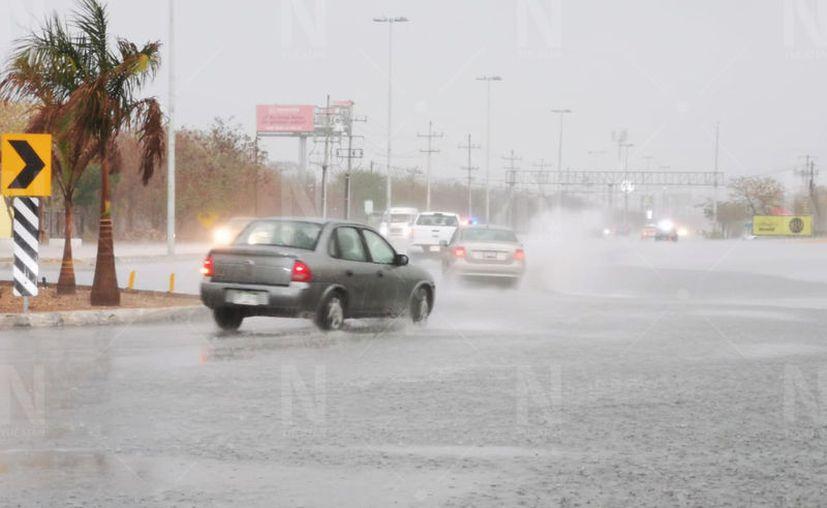 Desde mañana las lluvias serán frecuentes, principalmente por las tardes. (Daniel Sandoval/Novedades Yucatán)