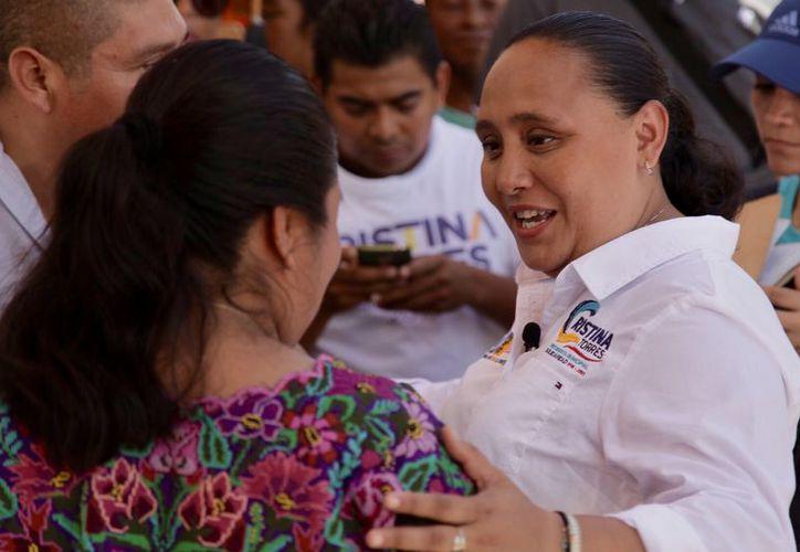 Cristina recordó que durante su gestión también se desarrolló el programa Crédito a la Palabra para Mujeres Emprendedoras. (Redacción)
