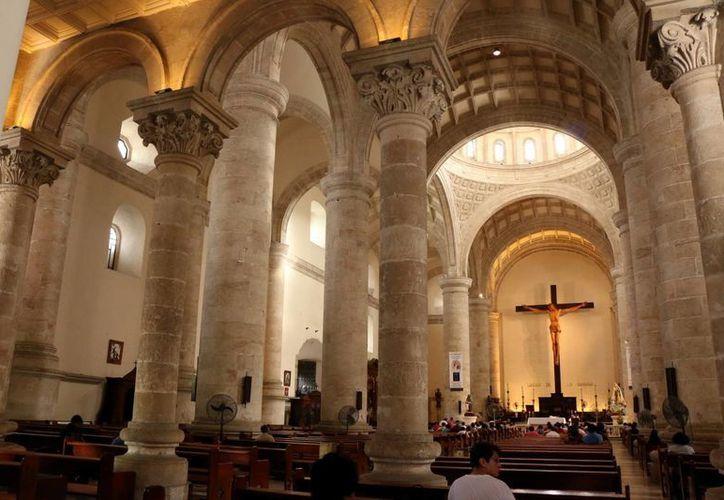 La Catedral de Mérida será sometida a trabajos de remozamiento. (Milenio Novedades)