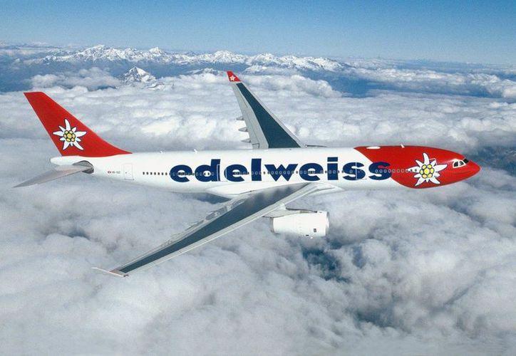 La aerolínea Edelweiss Air comenzará a operar una ruta entre Cancún y Zurich. (Contexto/Internet)