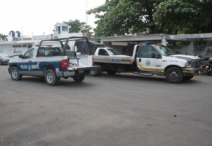 El parque vehicular pertenece al Ayuntamiento de Cozumel. (Julián Miranda/SIPSE)
