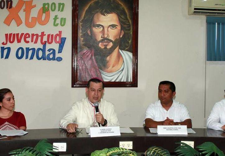 Este domingo, de manera simultánea, en los 14 decanatos que conforman la Diócesis de Yucatán se realizará este domingo 14 el 'Jubileo de la Juventud'. (Jorge Acosta/SIPSE)