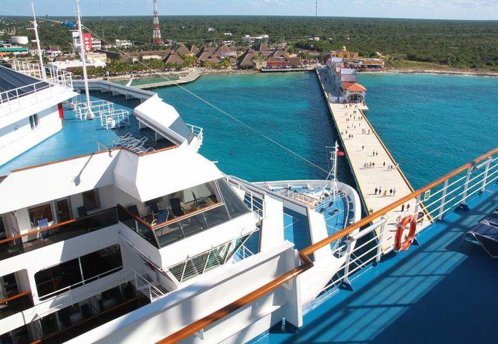Aumenta el número de cruceros que llegarán a la isla. (Gustavo Villegas/SIPSE)