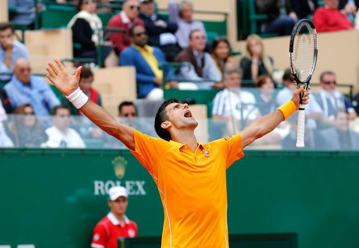 Novak Djokovic se medirá ante el checo Tomas Berdych en la final del Masters 1000 de Montecarlo. (AP)