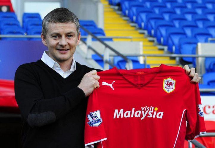 Solksajer regresa a la Liga Premier, pero ahora como entrenador del Cardif, después de su obligado retiro en 2007 debido a una lesión. (Agencias)