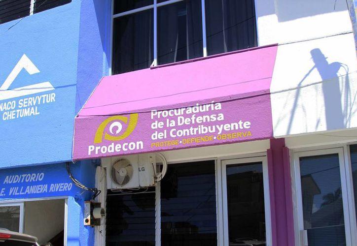 La Prodecon mantiene abiertas un total de 15 quejas en contra de las autoridades fiscales locales. (Harold Alcocer)