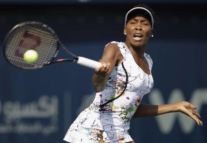 La norteamericana Venus Williams está cerca de conseguir su tercer campeonato en Dubai. Ya lo logró en 2009 y en 2010. (Agencias)