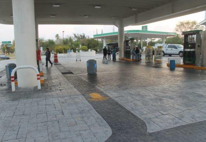 Tras el incidente en la gasolinera no hubo personas lesionadas. (SIPSE/Contexto)