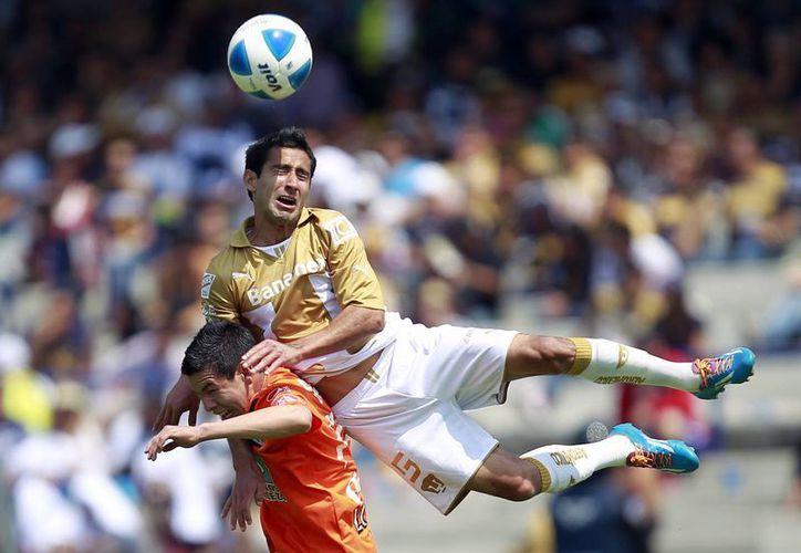 Pumas inició la temporada con dos derrotas en sus primeros tres encuentros, pero ya ligó siete triunfos al hilo y en la clasificación general suma 15 puntos. (Archivo Notimex)