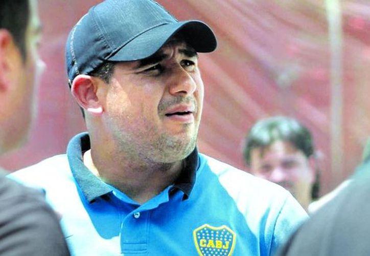 Maximiliano Mazzaro, barra de Boca Juniors, fue deportado de España cuando se disponía a ingresar al país para ver la final de la Copa Libertadores. (Clarín)
