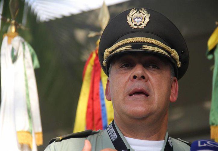 El director de la Policía Antinarcóticos, mayor general Ricardo Restrepo, habló de la lucha contra las drogas que enfrenta Colombia, país que ha recibido el reconocimiento en esta materia. (Notimex)