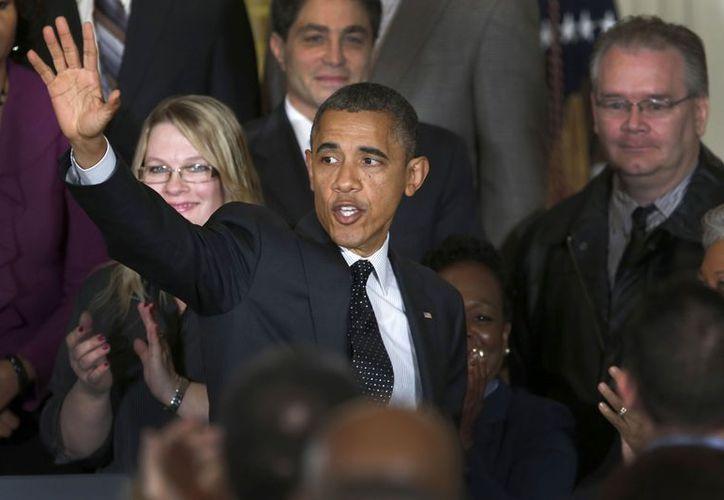 Barack Obama sólo perdió en Carolina del Norte. (Agencias)