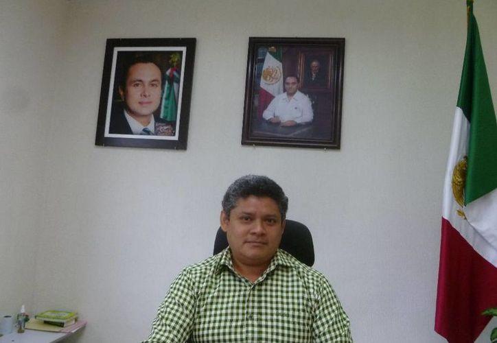 Fernando León Chávez dijo que los trámites de las denuncias son más rápidos. (Raúl Balam/SIPSE)