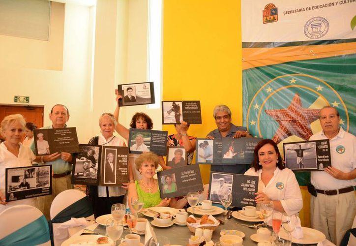 Las mentes y manos que crearon Cancún hace 45 años, se reunieron en el hotel Oasis Palm. (Victoria González/SIPSE)