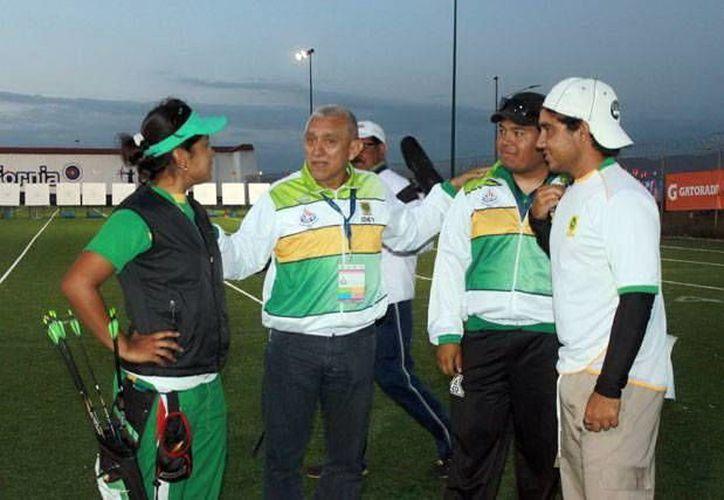 La delegación de arqueros yucatecos tuvo ayer un buen día, 3 medallas. (SIPSE)