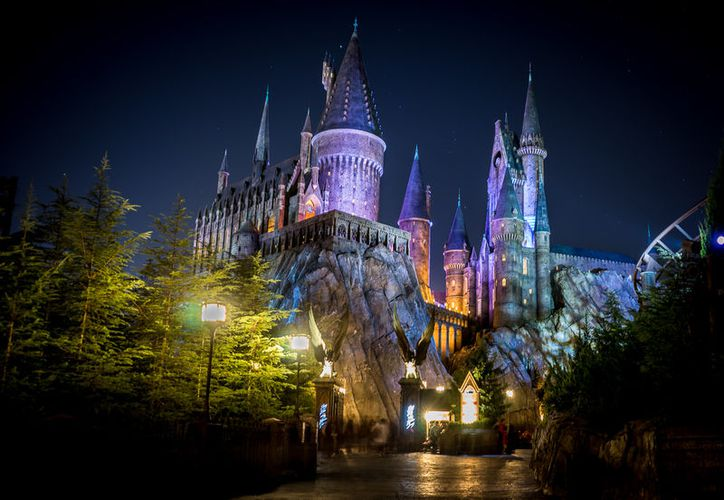 """Harry Potter and the Forbidden Journey"" guía a los visitantes en un viaje junto a Harry , Hermione y Ron. (Foto: Contexto/Internet)"
