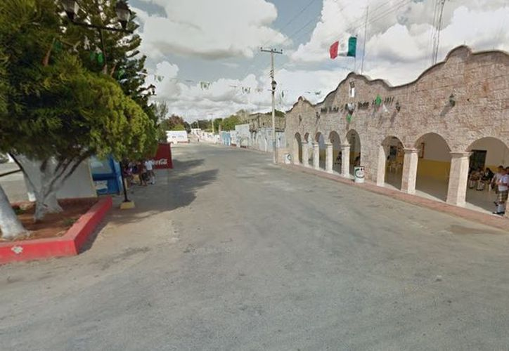 Los hechos ocurrieron en Xanláh, municipio de Chankom, población a la que corresponde la imagen. (Google Maps)