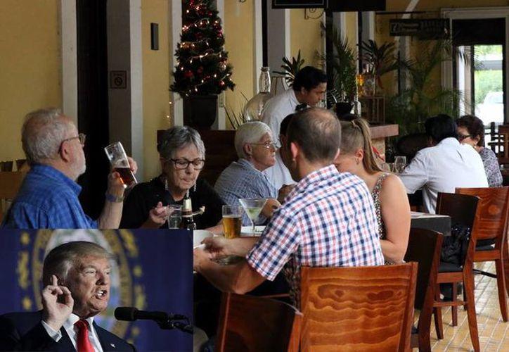 Los principales productos que se importan a Yucatán desde Estados Unidos son quesos especiales, vinos y licores, por lo que un alza de precios podría afectar las finanzas de los restauranteros locales. (Milenio Novedades/ AP)