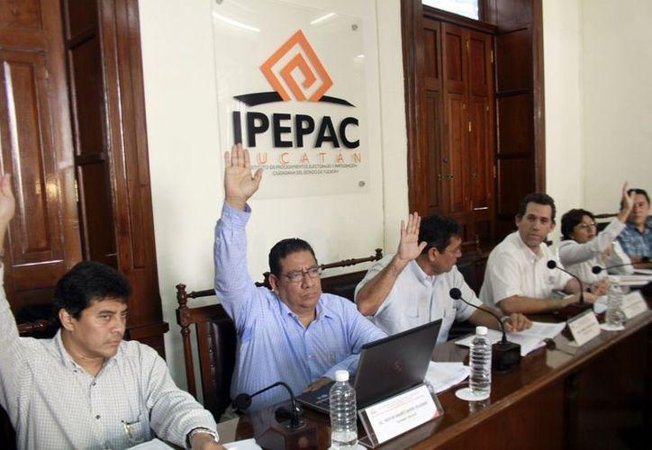 Ariel Aldecua y Ernesto Santín, ex consejeros del Ipepac. (Milenio Novedades)