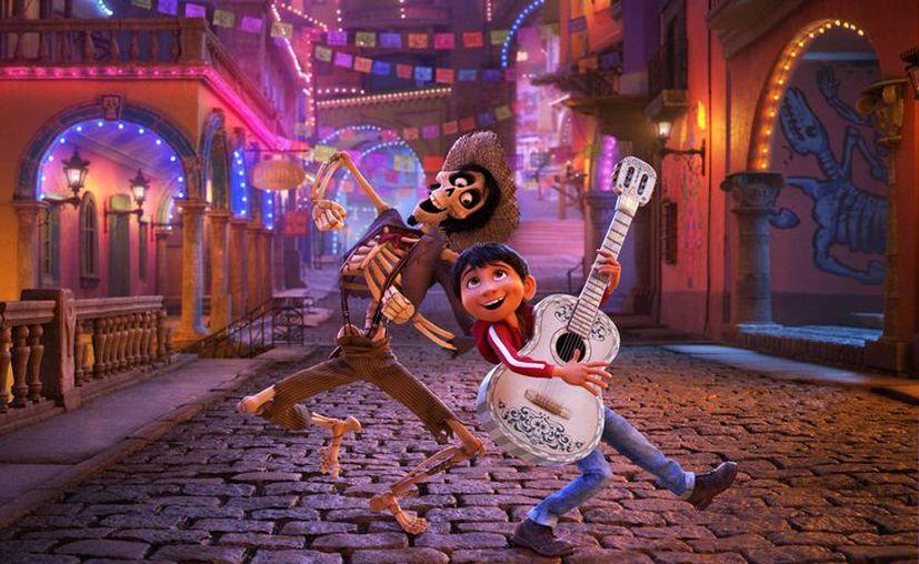 La nueva película animada de Disney-Pixar, Coco, es la más taquillera de México esta semana. (Disney Pixar).