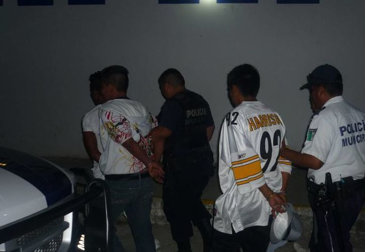 El sábado 9 de febrero fueron detenidas 27 personas. (Enrique Mena/SIPSE)