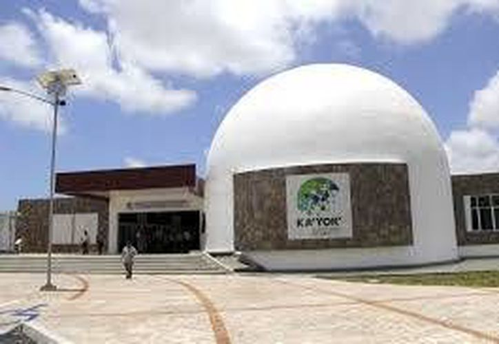 El Planetario de Cancún está cerrado hoy por las fiestas Navideñas. (Redacción/SIPSE)