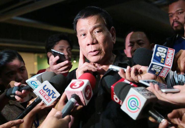 Rodrigo Duterte asegura que no ofrecerá disculpas por sus declaraciones. (newsinfo.inquirer.net)